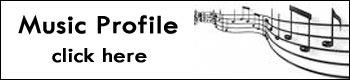 Music profile button in black and white.