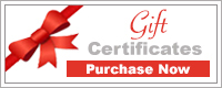 Gift certificate button for cruises.