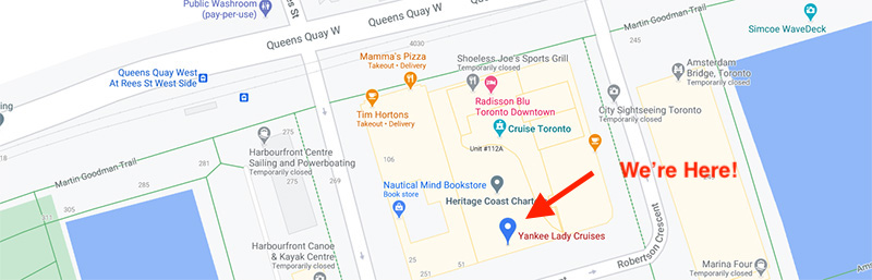 Map showing our office location.